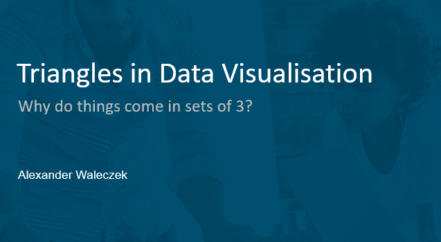 Triangles in Data Visualisation
