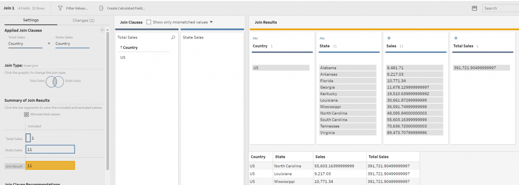 How to create Table Calculations in Tableau Prep