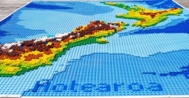 Building Physical Maps…with LEGO